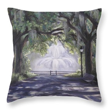 Forsythe Park Throw Pillow