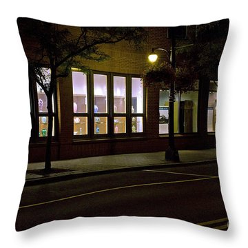 Frederick Carter Storefront 2 Throw Pillow