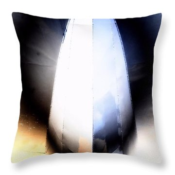 From Below Throw Pillow by Newel Hunter