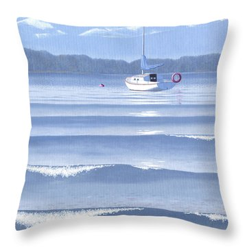 From The Beach Throw Pillow