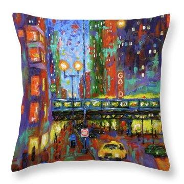 God Is Everywhere Throw Pillow by J Loren Reedy