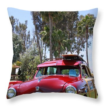 Throw Pillow featuring the photograph Got Wood? by Shoal Hollingsworth