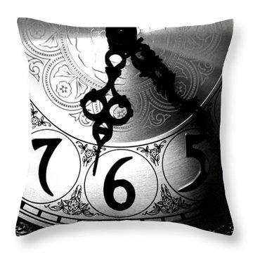 Grandfather Clock Throw Pillow