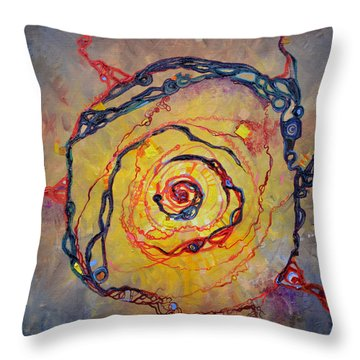 Growth Pattern Throw Pillow
