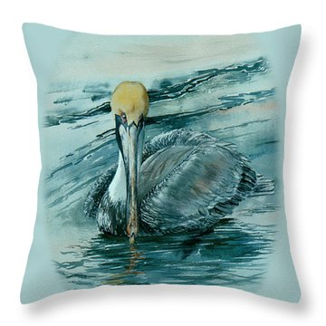 Guardian Of The Keys Throw Pillow