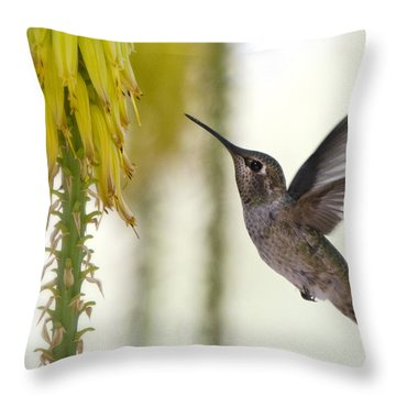 Happy Wings  Throw Pillow by Saija  Lehtonen