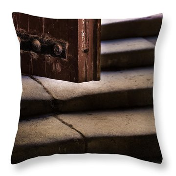Here It's Cold Throw Pillow
