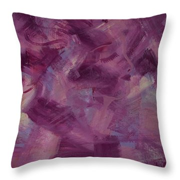 Hidden Beauty Throw Pillow by Judi Goodwin