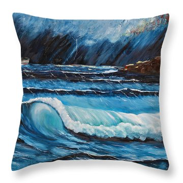 Hope  Throw Pillow by Patricia Olson