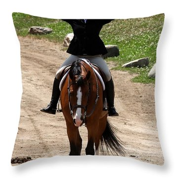 Hunter1 Throw Pillow