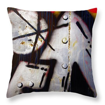 Industrial Detail Throw Pillow