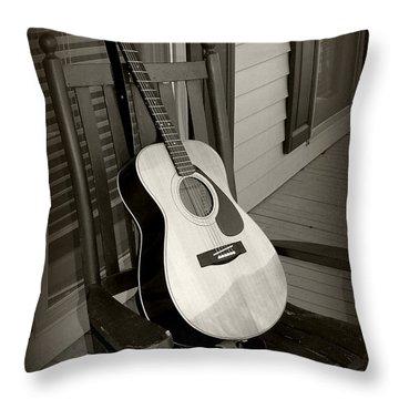 Intermission Throw Pillow by Kelly Nowak
