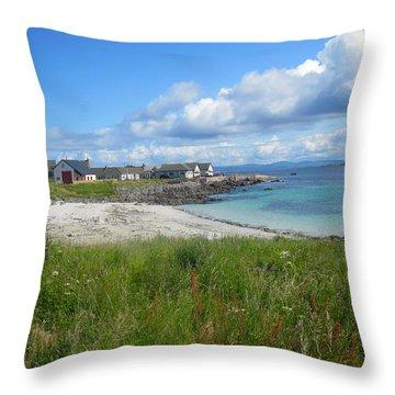 Iona Beach Throw Pillow