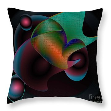 Its Out There Throw Pillow by Iris Gelbart