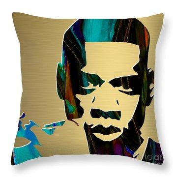 Jay Z Gold Series Throw Pillow