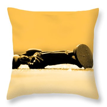 Jesus Christ  Throw Pillow by Tommytechno Sweden
