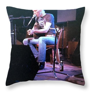 Jorma Kaukonen Throw Pillow