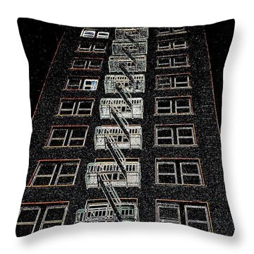 Throw Pillow featuring the photograph Journey by Nick David