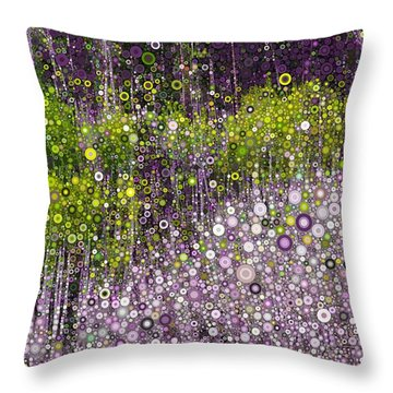 Just Beyond Emerald City Throw Pillow by Linda Bailey