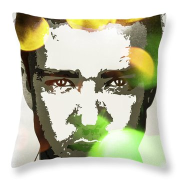Justin Timberlake Throw Pillow by Svelby Art