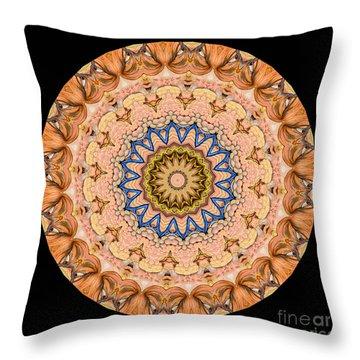 Kaleidoscope Anatomical Illustrations Seriesi Throw Pillow by Amy Cicconi
