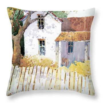 Kansas Charm Throw Pillow