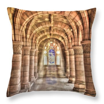 Kelso Abbey Throw Pillow