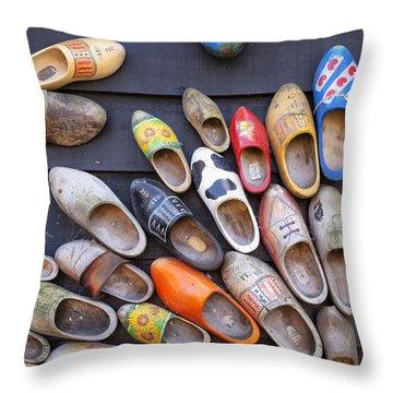 Klompen Throw Pillow by Joana Kruse