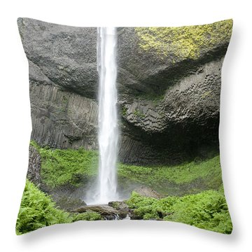 Latourelle Falls 4d Throw Pillow