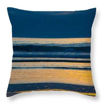 Layers Throw Pillow by Dana Kern