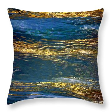 Light On Water Throw Pillow
