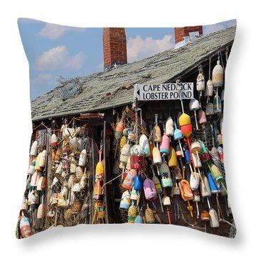 Lobsta House Throw Pillow