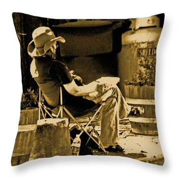 Locke Artist Throw Pillow