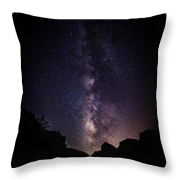 Heaven Come Down Throw Pillow by Rick Furmanek