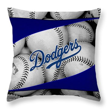 Los Angeles Dodgers Throw Pillow