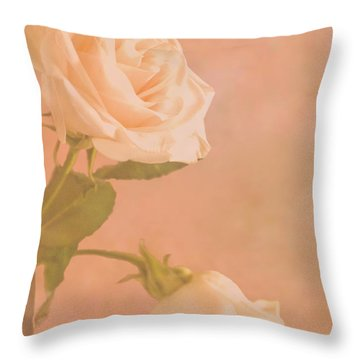 Love Whispers Softly Throw Pillow