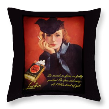 Luckie Throw Pillow