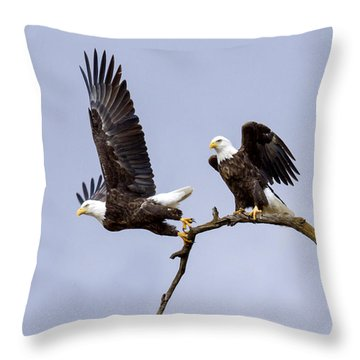 Majestic Beauty 2 Throw Pillow