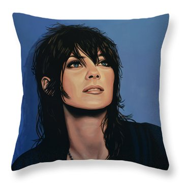 Marion Cotillard Throw Pillow