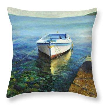 Martinscica Throw Pillow by Joe Maracic