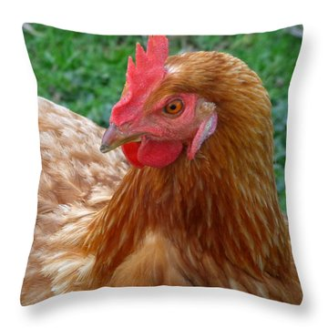 Mattie Ross Throw Pillow
