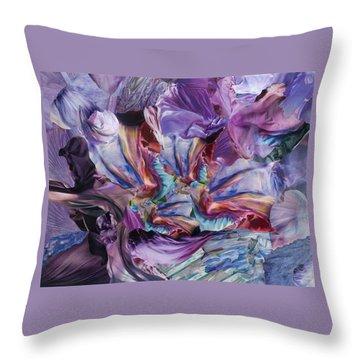 Merlin's Magic Throw Pillow