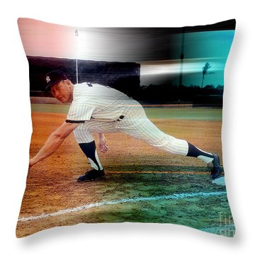 Mickey Mantle Throw Pillow