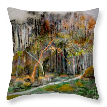 Miles To Go Throw Pillow
