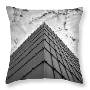 Modern Architecture Throw Pillow by Chevy Fleet
