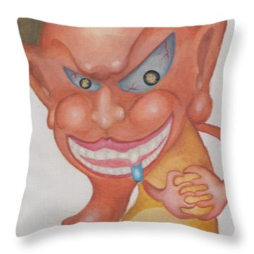 Money Monster Throw Pillow