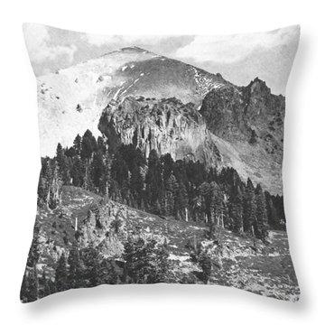 Mount Lassen Volcano Throw Pillow by Frank Wilson