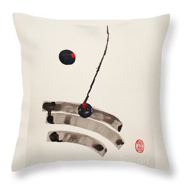 Muga No Genri Throw Pillow