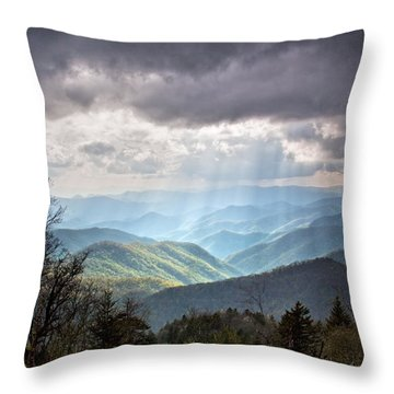 New Beginning Throw Pillow by Rob Travis