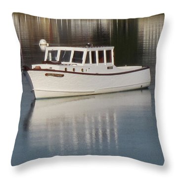 New Castle Bay Throw Pillow